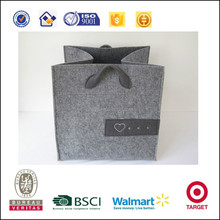 Fashion and good quality exquisite felt laundry bag laundry basket