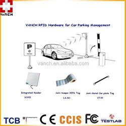 UHF RFID vehicle identification/car parking solution