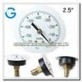 Calibración manómetro de vacío de acero negro