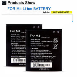 Fast shipping factory price Mobile phone battery for M4 ss4020