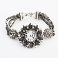 Free shipping hot style fashion punk style novelty wrist watches