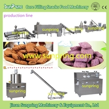 Extruded Chocolate Core Filling Roller/Pillow Snacks Food Machine