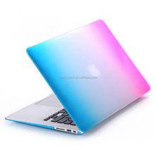 "Multicolor hard case for MacBook Air 11 ""sleeve, Blue Pink matt Smart Shell Case for Macbook Pro 13,plastic Case for Macbook 12"
