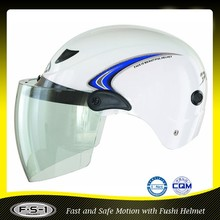 CE FUSHI abs safety helmet mini motorcycle helmet for sale