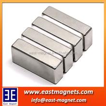 East-magnet Neodymium linear motor magnet