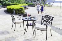 Hot sale Outdoor All Weather die cast aluminum outdoor furniture