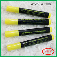 Functional Reactive Permanent Invisible Ink UV marker pen wit jumbo size