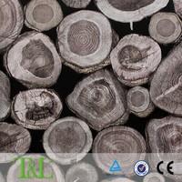 Wallpaper manufacturing wood pattern modernhouse design wallpaper