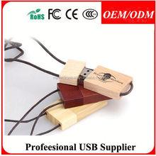 cross shape usb 2.0 , card usb pen drives wooden
