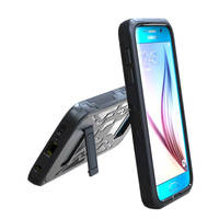 Wholesale PC + Silicone shockproof and drop resistance case for samsung s6, for samsung note 5, for samsung galaxy cover