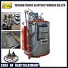 pit type vacuum heat treatment furnace