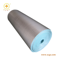 reflective aluminum foil 5mm foam building materials heat insulation material suppliers under metal roof as thermo insulation