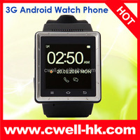 ZGPAX S6 Capacitive touch Screen WIFI GPS 3G Android Smart Watch mobile phone