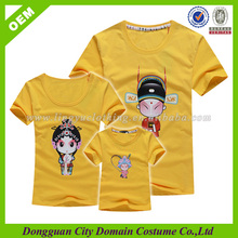 China Import Cotton Family T Shirt Designs Quotes 2014 (lvt060037)