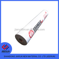 Glue Adhesion Black And White Protective Film For Acp