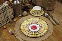 Modern Dinner Plate Bone China Porcelain Dinner Plate Dinnerware Set