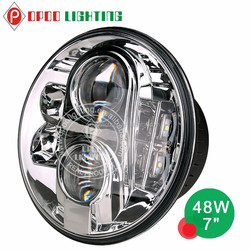 2015 new wholesale price motorcycle parts, China motorcycle led headlight