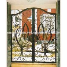 modelos de puertas y valla de hierro