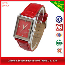 R0169 \(^o^)/~ new trend watch gift sets wholesale,leather band watch gift sets wholesale