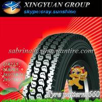 run flat tire 11r22.5 annaite brand