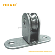 FCS/FTS/FSS/Motorized skylight accessories /roller blinds/window shade accessories-direction pulley(stainless steel+bearing)