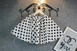 Polka Dots baby girl tutu skirts princess girl A dress
