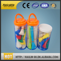 smooth application UL SGS nylon 66 Tensile self-locking nylon cable strap