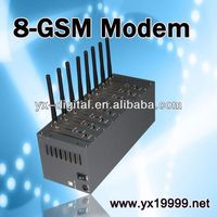 at command gsm modem 8 port bulk sms send sms online