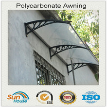 heat resistant clear canopy for windows polycarbonate