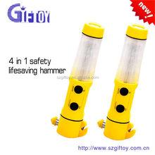 LED Munltifunction emergency safety hammer for auto use life hammer