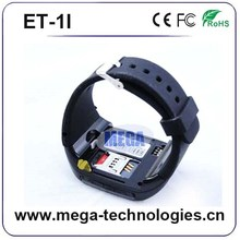 New Arrival Pedometer wrist wifi 3G GPS Android4.2 Smart Watch Mobile Phone