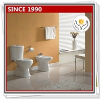 018 New Model South American Style Two Piece Toilet