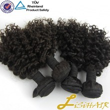 Top Quality Wholesale 100 Percent Human Hair Kinky Curly Remy Hair Weaving 99J