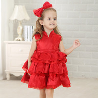 Kids Clothes 2015 Fashion Design Small Girls Dress New Year Dress For 3 Year Old Girls