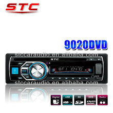 fashional front panel STC-9020 remote control universal car dvd player