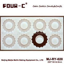 chocolate mould sheet mold Dessert decorator Cake decorating Round Circles