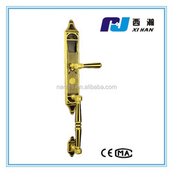 pure copper digital door lock,brass copper smart hotel door lock