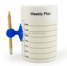 High quality message ceramic mug / writing ceramic mug / Writable mug