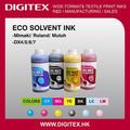 Qualidade consistente de tinta eco solvente para mimaki jv3 sp/série s