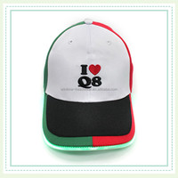 3d embroidery custom LED Lights Baseball Caps hats with Built-in LED Lights