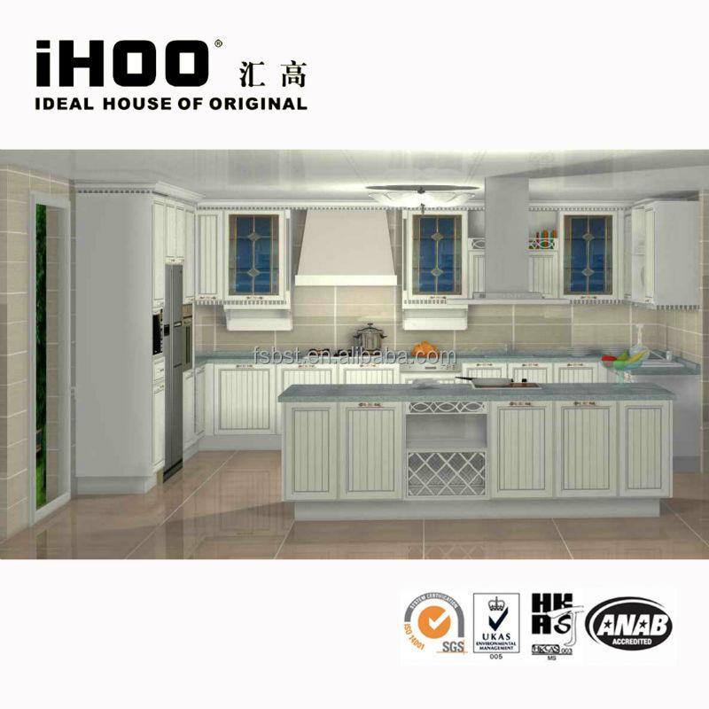 Kitchen Cabinet With Soft Close Drawer Slide View MDF Kitchen Cabinet