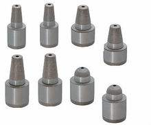 Leader pin for rubber mold