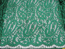 Super quality best selling cotton nylon lace fabric new sample