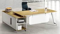 new design hot sale wooden melamine office furniture manager office desk