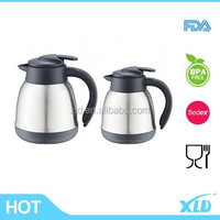 High grade quality double wall SS vacuum coffee pot with 1.5L made in china