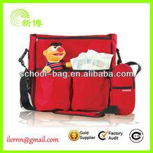 Hot Selling Design Wholesale Fashion Shoulder Totes 2014 Baby Diaper Bag