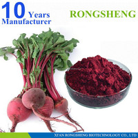 high quality pure organic red beet extract powder