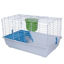 Two Storeys Foldable Metal Rabbit Cage Pet Cage Cage for Rabbit