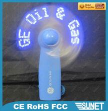 Lighting mini fan--Best idea for advertising your brand