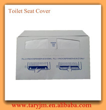 disposable travelling toilet seat cover paper tissue toilet seat cover